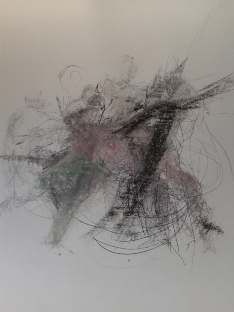 Integrated Dance Movement, drawing, Isabelle Gusty 2013